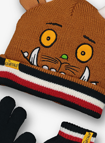 The Gruffalo Multicoloured Hat, Scarf & Gloves (1-9 Years)