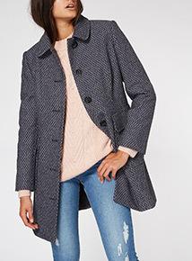 Herringbone Dolly Coat