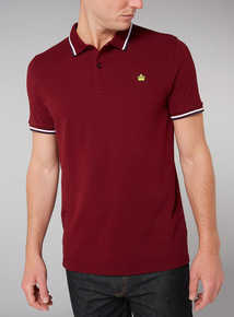 Admiral Burgundy Polo Shirt