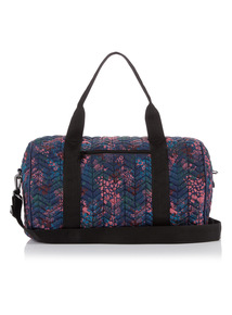 Multicoloured Human Nature Animal Print Sports Bag