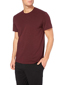 Dark Red Modal T-shirt