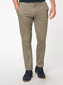 Taupe Slim Chino Trouser