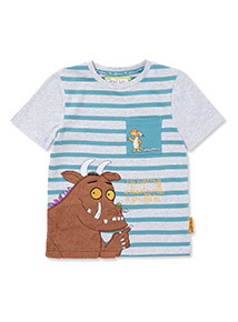 2 Pack Multicoloured Gruffalo T-Shirts (9 months-6 years)
