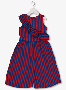 Red & Blue Stripe Jumpsuit (3-12 years)