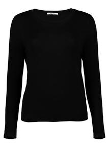 Online Exclusive Black Crew Neck Jumper