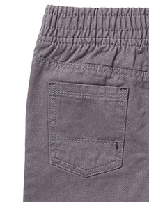 2 Pack Grey and Navy Woven Joggers (9 months-6 years)