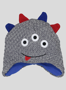 Multicoloured Monster Trapper Hat (1 - 9 years)