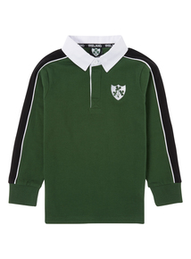 Boys Green Ireland Rugby T-shirt (3-12 years)
