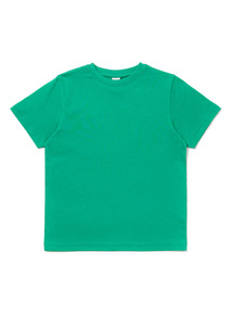 Green Crew Neck T-Shirt (3-12 years)