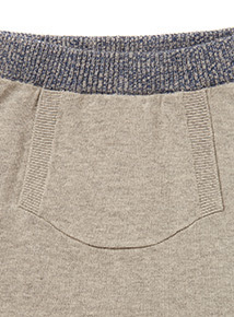 Grey Bear Knitted Top and Bottoms Set (0-24 months)