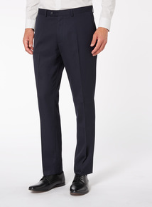 Navy Stain Resistant Trousers