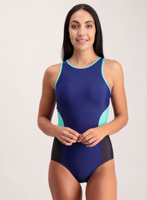 Multicoloured Secret Shaping Sports Swimsuit
