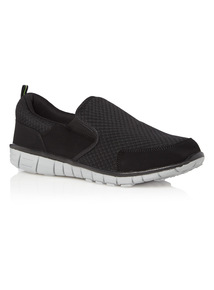 Mesh Slip On Shoes
