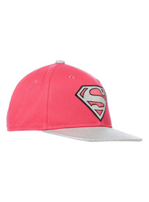 Pink SuperGirl Cap (3 - 12 years)