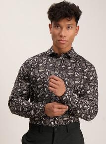 Admiral Monochrome Paisley Shirt