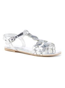 Twist Strap Sandals
