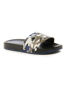 Camo Print Pool Sliders