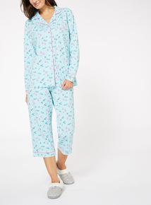 Ski Print Pyjama Set