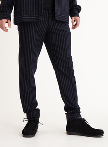 GFW Navy Pinstripe Trousers