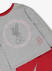 Online Exclusive Official Liverpool Grey Pyjamas (2-12 years)