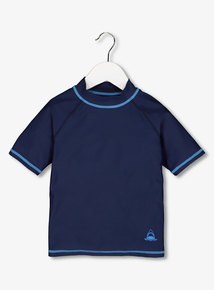 Navy Blue Rash Vest (3-12 Years)