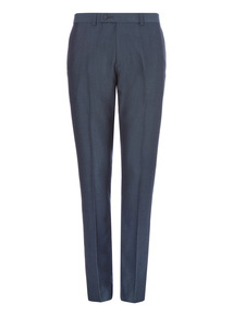 Blue Air Force Smart Trousers
