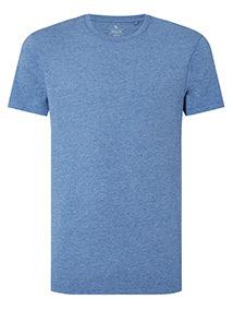 Pale Blue Crew Neck T-shirt