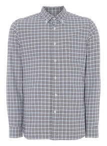 Blue Gingham Oxford Shirt