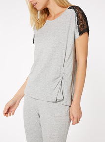 Lace Pyjama Top