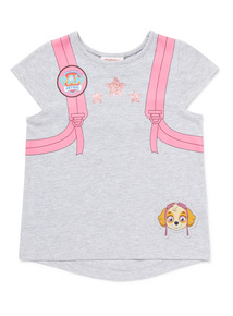 Multicoloured Paw Patrol Backpack T-Shirt (9 months-6 years)