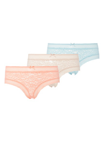 Lace Short 3 Pack