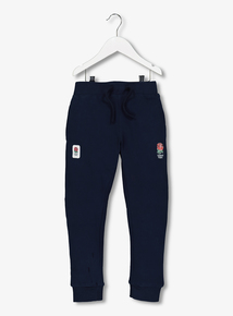 Online Exclusive England Rugby Blue Joggers (12 Months - 14 Years)