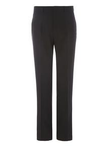 Black Panama Suit Trousers