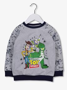 Disney Toy Story Grey Sweatshirt (1- 6 Years)