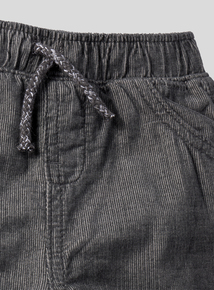 Charcoal Corduroy Trousers (0-24 months)