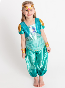 'Shimmer & Shine' Green Shine Costume (2-8 years)