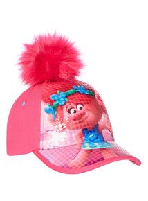 Pink Pom Pom Trolls Cap (3-9 years)