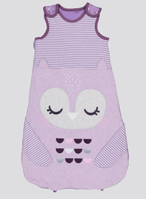 Purple Owl Sleep Bag 2.5 Tog (0-24 months)