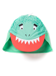 Green Dino Keppie Hat (1-6 years)