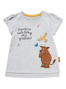 Grey Gruffalo Applique T-Shirt (9 months-6 years)
