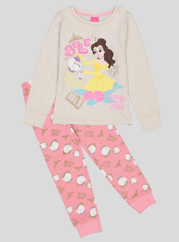 20064a90206e4 Kids Disney Beauty & The Beast Pyjamas (1.5 - 10 Years)   Tu clothing