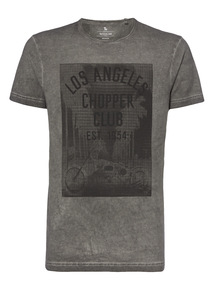 Black LA Chopper Club Tee