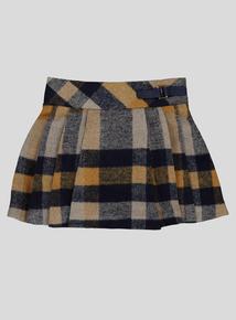 Multicoloured Check Kilt Style Skirt (9 months-6 years)