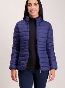 Navy Packaway Padded Thermolite Jacket