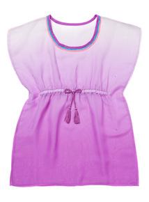 Purple Kaftan Dress (3 - 12 years)