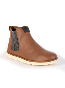 Tanned Chelsea Ankle Boots