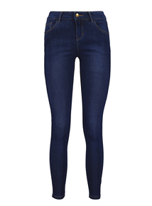 Online Exclusive Dark Denim Blue Skinny Jeans