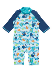 Multicoloured Sea Life Sunsafe (9 months - 5 years)