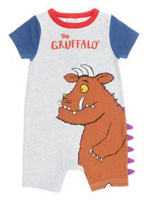 Boys Grey Gruffalo Romper (0 - 24 months)
