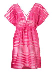 Pink Nautical Kaftan Dress